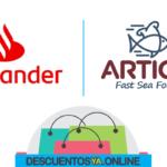 Descuentos con Santander en Ártico Sea Food.