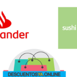 Descuentos con Tarjetas de Santander en Sushi app