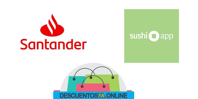🍣 Descuentos con Tarjetas de Santander en Sushi app