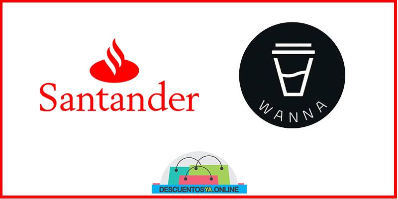 Descuentos en Wanna Café con Santander