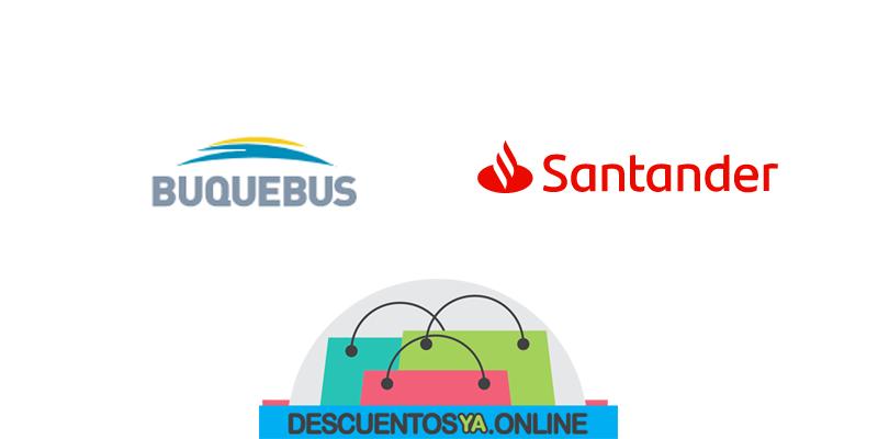 Descuentos con Tarjetas de Santander en Buquebus