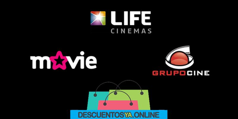 Reabren los cines Life, Movie y Grupocine con descuentos